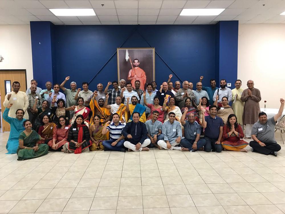 Houston Hindu Leaders Meeting at Ashtalakshni Temple - Aug 5, 2017
