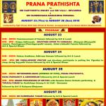 Prana Prathishta at Woodland Hindu Temple